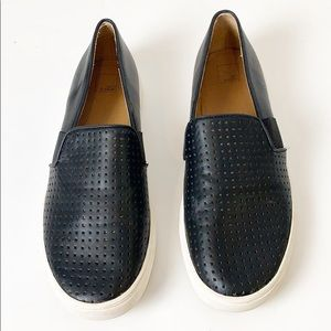 14th & Union Rizzo Black Perforated Sneaker